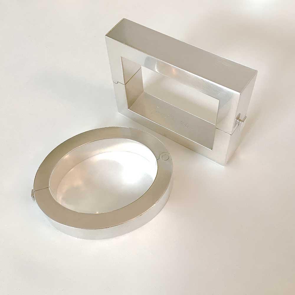 Silberne Armreife von Thomas Pohl